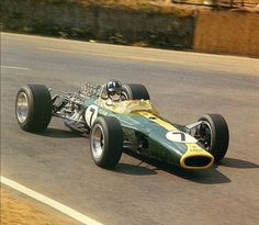 1967 Graham Hill, Lotus 49.