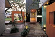 korean contemporary interior design | Korean House Design Modern and Geometric Shapes Korean House Picture ...