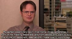 Dwight's perfect Valentine's day.. ;)