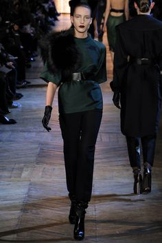 Saint Laurent Fall 2012 Ready-to-Wear Collection Slideshow on Style.com