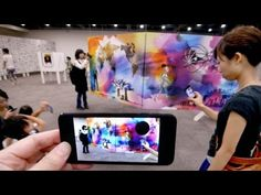 Augmented Reality Museum in Japan Interactive Exhibition, Interactive Design, Ar Reality, Digital Retail, Ar Game, New Media Art, Digital Signage, Augmented Reality, Medium Art