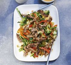 Don't reach for the takeaway menu, try this beef stir-fry recipe instead. It's just as tasty as your favourite Chinese and healthier too.