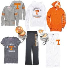 Go vols! I need this ENTIRE collection. Tennessee Game, Tennessee Girls, Tn Vols, Tennessee Football, Orange Fashion, Tennessee Volunteers, Mom Outfits, Lounge Wear, Outfit Of The Day