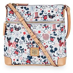 Patriotic Mickey Mouse Letter Carrier Bag by Dooney & Bourke | Disney Store