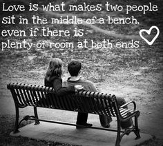 animal pictures, benches, valentine day, two hearts, inspir, romantic quotes, people, love quotes, the secret
