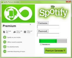 SpotifyPremiumCodes.Net just released the Spotify Premium Code Generator V2.3. The new updated Spotify Premium Code Generator V2.3 allows you to select which Spotify Premium membership you want. SPCG V2.3 is MAC and PC capable and very easy to use. For more information you can continue reading below, otherwise Down Free Spotify Codes now.