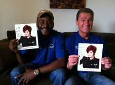"""Even though Mark and Bopper didn't win """"The Amazing Race"""", they did get to visit """"The Talk""""."""