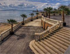 #Sea #Garden and #Port #Burgas #Bulgaria  #Морской #Парк, #порт #Бургас, #Болгария