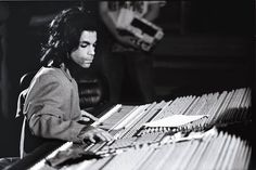 Rare picture of Prince at the soundboard at Paisley Park circa 1989. Not only a musician, singer, and performer. He was also an incredible producer who not only produced albums for himself but he produced for other artists too.
