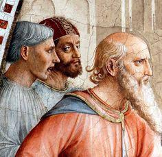 Fra Angelico - Renaissance - La Chapelle Niccoline - Saint Etienne conduit au supplice, les bourreaux - Detail