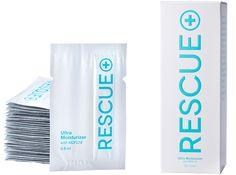 RESCUE 30 Ultra Moisturizer Application