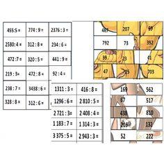 Skládačka písemné dělení Periodic Table, Words, Biology, Periodic Table Chart, Periotic Table, Horse