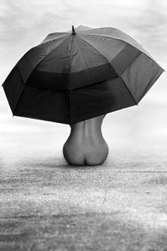 ok Marichia on the beach with an umbrella???@Norell Wyatt