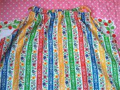 Handmade Sundress Girls 5/6 by lishyloo on Etsy, $10.00