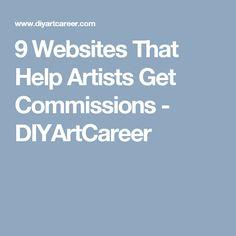 9 Websites That Help Artists Get Commissions - DIYArtCareer