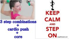 Step Aerobics Fitness Workout| Fat Burning Cardio STEP Workout| Step Aer...