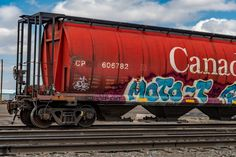 Rr Car, Train Car, Car Photos, Model Trains, Graffiti, Engineering, Cover, Photography, Travel