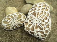 Zen Garden Willow Rocks pattern by Elizabeth Gormley