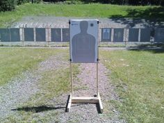 homemade shooting ranges outside | Homemade Target Stand