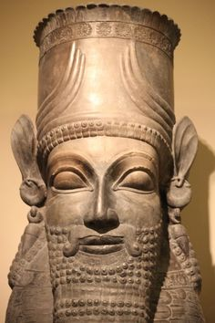 Column Capital in the form of a Man-Bull, Reign of Xerxes,486-465 BC, Oriental Institute of the University of Chicago
