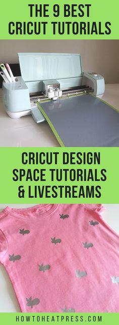 The 9 best cricut tutorials - cricut design space tutorials and livestreams