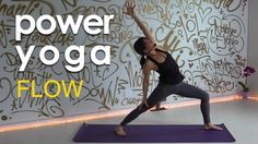 Intermediate Power Yoga Flow for Spring 40 mins