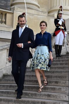 Queens & Princesses - State visit to France. Day 1 - Visit to the Velazquez exhibition at the Grand Palais