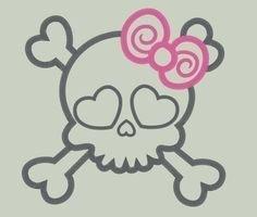 Hey, I found this really awesome Etsy listing at http://www.etsy.com/listing/59778031/sweet-girly-skull-embroidery-applique