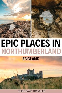 Northumberland is England's most northern county, filled with castles, countryside and rugged coastline. | Where to Visit in Northumberland | How to Get to Northumberland | Places in Northumberland | Where is Northumberland | Best Castles in Northumberland | Hidden Beaches in England #visitengland #northumberland #visitnorthumberland