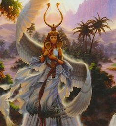 Queen Isis- Goddess of the Rosy Dawn Isis Goddess, Mother Goddess, Egyptian Goddess, Durga Goddess, Nut Goddess, Divine Goddess, Ancient Goddesses, Egyptian Mythology, Gods And Goddesses