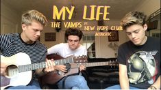 My Life - The Vamps Ft New Hope Club (Acoustic) Blake Richardson, Reece Bibby, New Hope Club, The Vamps, Song Lyrics, Acoustic, My Life, Album, Songs
