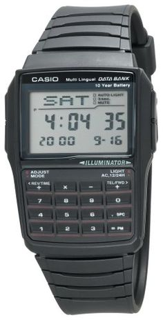 Casio Men's DBC32-1A Databank Watch « Holiday Adds  For those in the business n math field lol