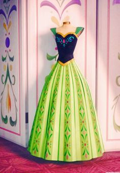 disney frozen anna for the first time in forever dress Anna Frozen, Frozen And Tangled, Disney Frozen, Frozen 2013, Disney And Dreamworks, Disney Pixar, Walt Disney, Disney Icons, Disney Love