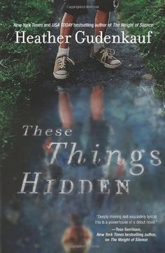 These Things Hidden by Heather Gudenkauf. This book...is fine. It has some interesting elements but it felt rushed, like the author was more concerned about getting to the big reveal at the end of the plot than exploring the characters. Frequent switches of perspective and short chapters made it hard to fully understand anyone.