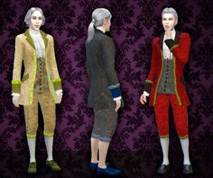 My Stuff: Rococo Clothes for man