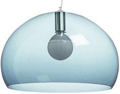 Kartell FL/Y Transparent Suspension Lamp | 2Modern Furniture & Lighting