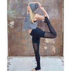 Alo Yoga Mesh Goddess Legging #yoga #inspiration