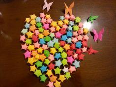 Origami I love stars