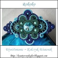 .This would make a beautiful clasp on a purse!