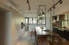Residence Lin, Taipei by KC design studio