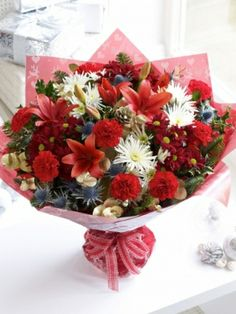 interflora flowers in a box
