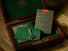 """Designed for Dan & Dave Industries, Makers Playing Cards were inspired by the many """"makers"""" throughout mankind's history. The ones that paved their own way and forged a path for the rest of us. The deck features 14 custom illustrated Makers that have shap…"""