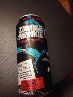 Zombie Monkie   Tallgrass brewing