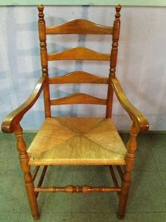 Captains Chair To A Set Of 6 Ladder Back Chairs