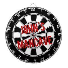 "Large 14/"" Dart Board Set Dartboard Family Party Game Fun With 6 Darts UK Seller"
