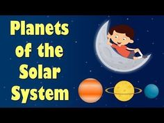 Planets of the Solar System | Videos for Kids - YouTube