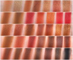 Morphe 35O2 Second Nature Eyeshadow Palette Swatches - The Beauty Collection