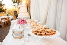 Fairy Tale Garden Wedding, sweets table, dessert, macarons. For more inspiration, visit www.fetenashville.com | Féte Nashville