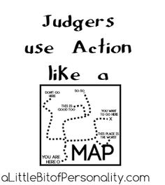 When Judgers Focus On Action, Itu0027s Applied To Specific Circumstances. Like  A Map, There Are Goals And Destinations And Each Choice Is A Path That Will  ...
