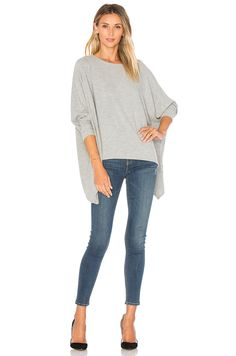 Project Social T Sunday Slouchy Dolman in Grey | REVOLVE